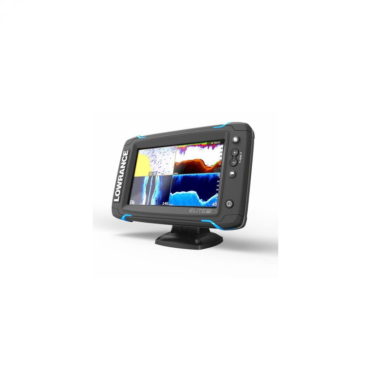 Lowrance Elite-7 Ti Mid/High/ TotalScan