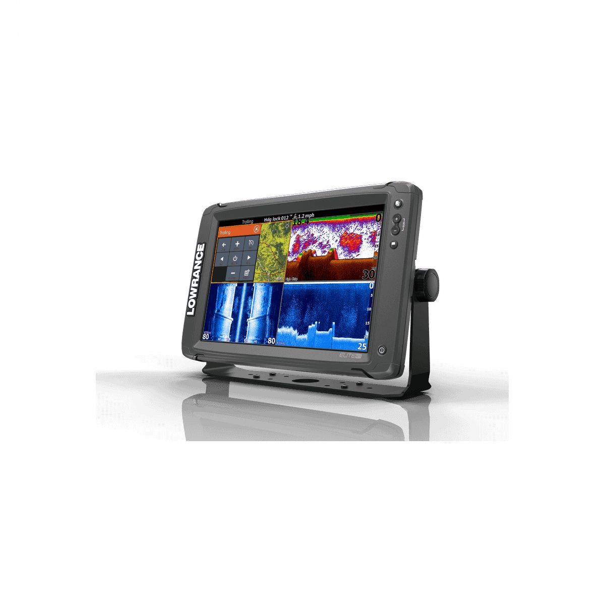 Lowrance Elite-12 Ti Mid/High/ TotalScan