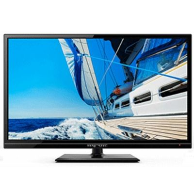 "Majestic LED194GS 18,5"" 12V HD LED TV+DVD with global tuners"