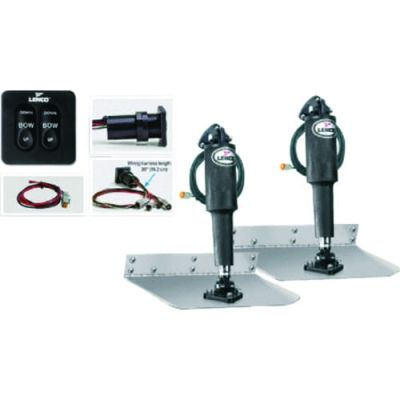 "Lenco 15104-102 ""Complete trim tab kits"" 9"
