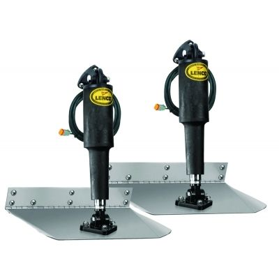 Lenco 15008-101 Standard Trim Tab Kit 12