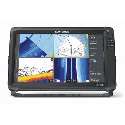 Lowrance HDS-16 Carbon Mid/High/TotalScan