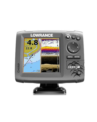 Lowrance HOOK-5 Mid/High/ DownScan™