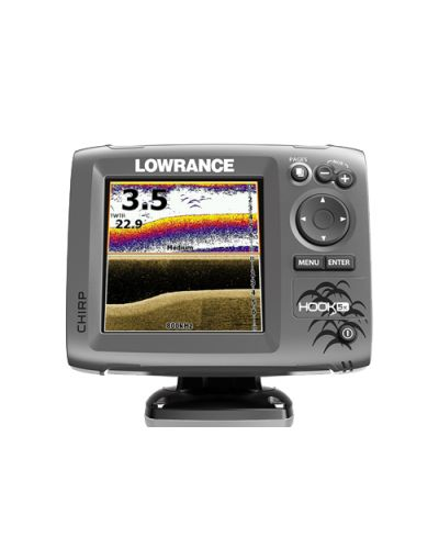 Lowrance HOOK-5x Mid/High/ DownScan