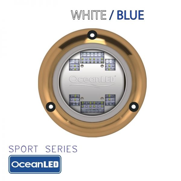 LED svjetlo OceanLED SPORT-Series S3124s Dual White/Blue
