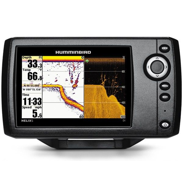 Humminbird HELIX 5 DI G2 Sonar Down Imaging