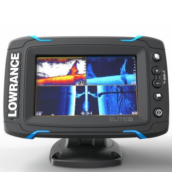 Lowrance Elite-5 Ti Mid/High/ DownScan