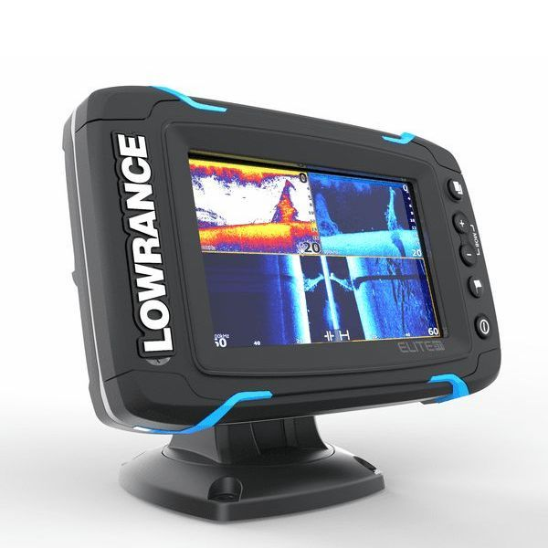 Lowrance Elite-5 Ti Mid/High/ TotalScan