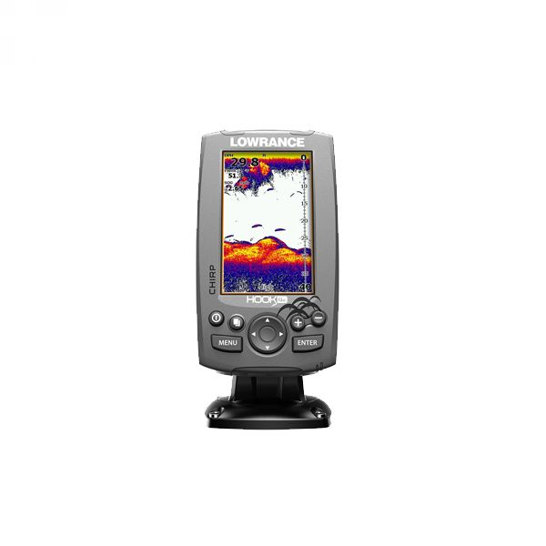 Lowrance HOOK-4x Mid/High/ DownScan™