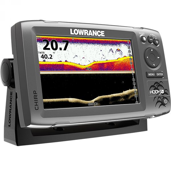 Lowrance HOOK-7x Mid/High/ DownScan™