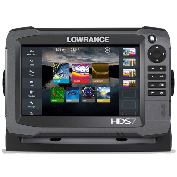 Lowrance HDS-7 GEN3 Mid/High/3D Bundle