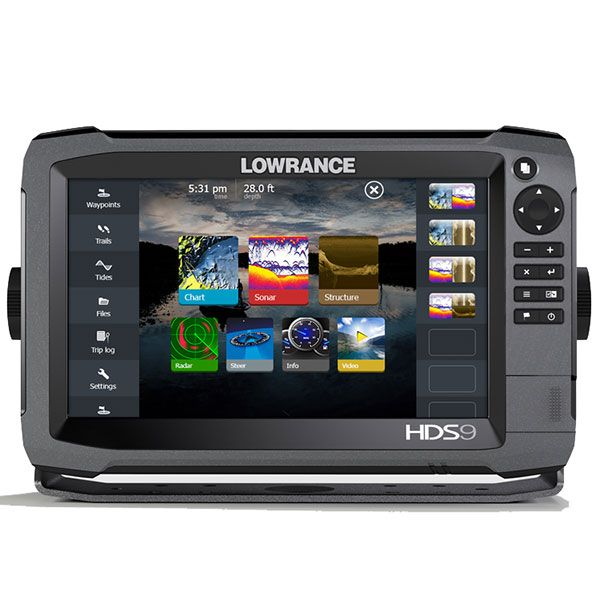 Lowrance HDS-9 GEN3 Mid/High/ 3D bundle