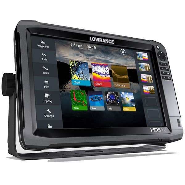 Lowrance HDS-12 GEN3 Mid/High/ TotalScan