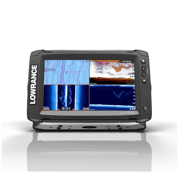 Lowrance Elite-9 Ti Mid/High/ TotalScan